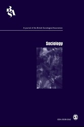 Sociology journal cover image