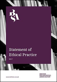 Statement of Ethical Practice cover image